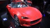 2015 Mazda MX-5 front three quarters at the 2014 Los Angeles Auto Show