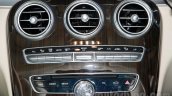 2015 Mercedes C Class center console launch