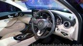 2015 Mercedes C Class dash launch