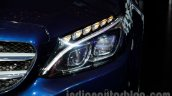 2015 Mercedes C Class headlight launch