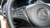 2015 Mercedes C Class steering controls launch