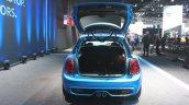 2015 Mini Cooper 5-door Hardtop boot at the 2014 Los Angeles Auto Show
