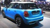 2015 Mini Cooper 5-door Hardtop rear three quarters at the 2014 Los Angeles Auto Show