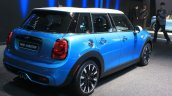 2015 Mini Cooper 5-door Hardtop rear three quarters right at the 2014 Los Angeles Auto Show