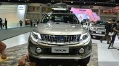 2015 Mitsubishi Triton accessorized front at the 2014 Thailand International Motor Expo