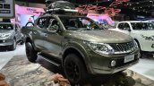 2015 Mitsubishi Triton accessorized front three quarters at the 2014 Thailand International Motor Expo