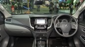 2015 Mitsubishi Triton dashboard at the 2014 Thailand International Motor Expo