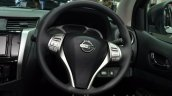 2015 Nissan Navara steering wheel at the 2014 Thailand International Motor Expo