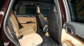 2015 Porsche Cayenne Facelift rear seat at the 2014 Guangzhou Auto Show