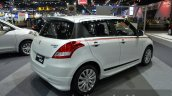 2015 Suzuki Swift RX rear three quarters right at the 2014 Thailand International Motor Expo