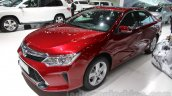 2015 Toyota Camry facelift front quarter at the Guangzhou Auto Show 2014