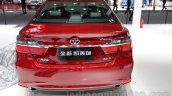 2015 Toyota Camry facelift rear at the Guangzhou Auto Show 2014