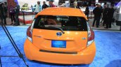 2015 Toyota Prius c rear at the 2014 Los Angeles Motor Show