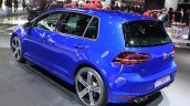 2015 VW Golf R rear three quarters at the 2014 Los Angeles Auto Show