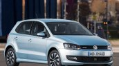 2015 VW Polo BlueMotion front three quarter