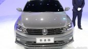 2015 VW Sagitar facelift front at Guangzhou Auto Show 2014