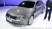 2015 VW Sagitar facelift front quarter at Guangzhou Auto Show 2014