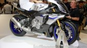2015 Yamaha YZF-R1 M front three quarter at EICMA 2014