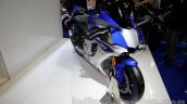 2015 Yamaha YZF-R1 front three quarter at EICMA 2014