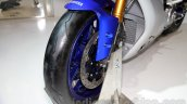 2015 Yamaha YZF-R1 front tyre at EICMA 2014