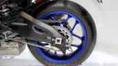 2015 Yamaha YZF-R1 rear wheel at EICMA 2014