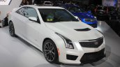 2016 Cadillac ATS-V Coupe front three quarters at the 2014 Los Angeles Auto Show
