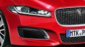 2016 Jaguar XF rendering headlamp