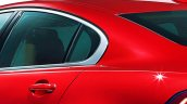 2016 Jaguar XF rendering rear fender