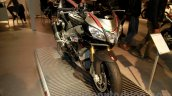 Aprilia Tuono V4 1100 RR front right three quarter at EICMA 2014