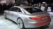Audi Prologue Concept rear three quarters left at the 2014 Los Angeles Auto Show