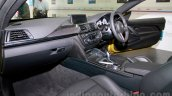 BMW M4 Coupe dashboard passenger side for India
