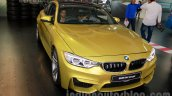 BMW M4 Coupe front three quarters left for India