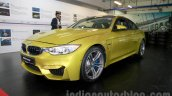 BMW M4 Coupe front three quarters right for India