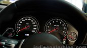 BMW M4 Coupe instrument cluster for India