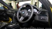 BMW M4 Coupe interior for India