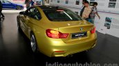 BMW M4 Coupe rear three quarters for India