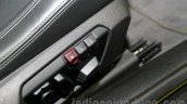 BMW M4 Coupe seat adjustment buttons for India