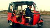 Bajaj Tuk Tuk with guns and Honda CBR600RR engine