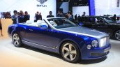 Bentley Grand Convertible front three quarter view at the 2014 Los Angeles Auto Show