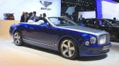 Bentley Grand Convertible front three quarters left at the 2014 Los Angeles Auto Show
