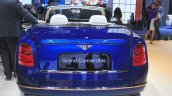Bentley Grand Convertible rear at the 2014 Los Angeles Auto Show
