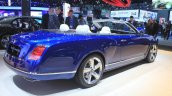Bentley Grand Convertible rear three quarters at the 2014 Los Angeles Auto Show