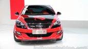 Chery Arrizo 3 Newbee Champion Edition front at Guangzhou Auto Show 2014