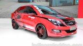 Chery Arrizo 3 Newbee Champion Edition front quarter at Guangzhou Auto Show 2014