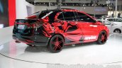 Chery Arrizo 3 Newbee Champion Edition rear quarter at Guangzhou Auto Show 2014