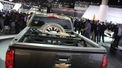 Chevrolet Colorado ZR2 cargo bay at the 2014 Los Angeles Auto Show