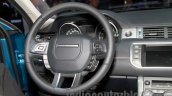 China made Range Rover Evoque steering at 2014 Guangzhou Auto Show