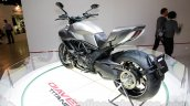 Ducati Diavel Titanium rear three quarters left at EICMA 2014