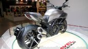 Ducati Diavel Titanium rear three quarters right at EICMA 2014