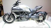 Ducati Diavel Titanium side at EICMA 2014
